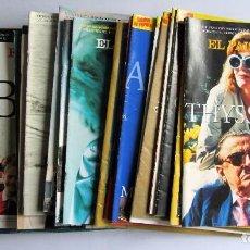 Coleccionismo de Periódico El País: EL PAÍS SEMANAL AÑO 1997 LOTE DE 22 REVISTAS, ENTRE LA Nº 1076 Y LA Nº 1109 VER FOTOGRAFÍAS. Lote 109009247