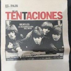 Coleccionismo de Periódico El País: EL PAIS DE LAS TENTACIONES ,POTADA ,BEATLES ,,LA RESURRECCION DEL MITO,, N 14 - 1994. Lote 110585851
