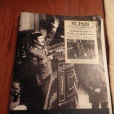 Coleccionismo de Periódico El País: LAS PORTADAS DE EL PAIS - UNA HISTORIA VIVA DE LOS ULTIMOS 30 AÑOS IMCOMPLETO 21 FACSIMILES - 2006. Lote 110595527
