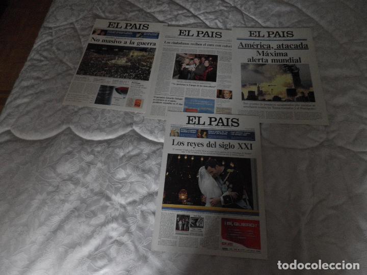Coleccionismo de Periódico El País: LAS PORTADAS DE EL PAIS - UNA HISTORIA VIVA DE LOS ULTIMOS 30 AÑOS IMCOMPLETO 21 FACSIMILES - 2006 - Foto 5 - 110595527