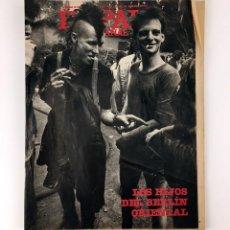 Coleccionismo de Periódico El País: EL PAIS SEMANAL 337 1983 AÑO VIII SEGUNDA EPOCA LOS HIJOS DEL BERLIN ORIENTAL RAMEAU LUCIO SANDIN ++. Lote 110819803