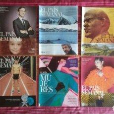 Coleccionismo de Periódico El País: LOTE 10 REVISTAS EL PAÍS SEMANAL. Lote 112914611