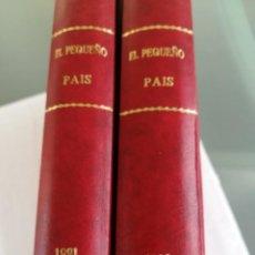 Coleccionismo de Periódico El País: SUPLEMENTO PEQUEÑO PAIS-1991 Y 1992 (OLIMPIADA) 2 TOMOS COMPLETOS-ENCUADERNADOS. Lote 115398395