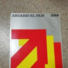 Coleccionismo de Periódico El País: ANUARIO EL PAÍS 1988. Lote 116510199