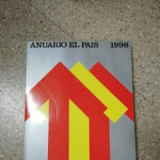 Coleccionismo de Periódico El País: ANUARIO EL PAÍS 1998. Lote 116510511