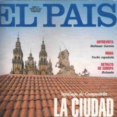 Coleccionismo de Periódico El País: EL PAÍS SEMANAL Nº 127 / 25 JULIO 1993 / SANTIAGO DE COMPOSTELA. Lote 117773915