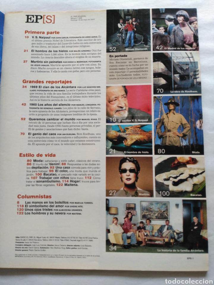 Coleccionismo de Periódico El País: El País Semanal 2002. Queremos cambiar el mundo. 1969 Los Alcántara. Madrid de los 60 - Foto 2 - 118518408