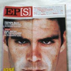 Coleccionismo de Periódico El País: EL PAÍS SEMANAL 2002. TORERO JOSÉ TOMÁS, LA REVOLUCIÓN DEL TOREO. BIBLIOTECA DE ALEJANDRÍA.. Lote 118519567
