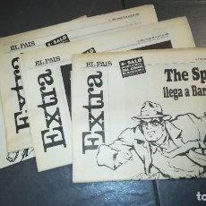 Coleccionismo de Periódico El País: 4 EXTRAS EL PAIS 8E SALO INTERNACIONAL DEL CÒMIC DE BARCELONA.17,18,19 Y 20 DE MAYO DE 1990. Lote 118566235