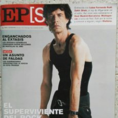 Coleccionismo de Periódico El País: EL PAÍS SEMANAL N° 1310 NOVIEMBRE 2001 MICK JAGGER ROLLING STONES. Lote 119004298