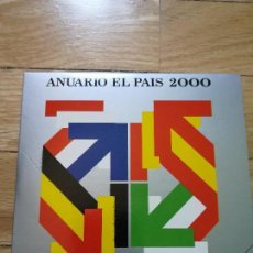 Coleccionismo de Periódico El País: ANUARIO EL PAIS 2000 - FORMATO CD-ROM. Lote 119122423
