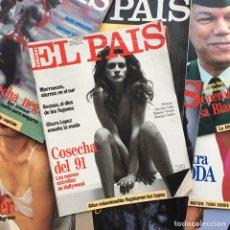 Coleccionismo de Periódico El País: EL PAÍS SEMANAL 1 A 210 TERCERA ÉPOCA: 29 FEB 1991 A 26 FEB 1995. FALTAN 34 NÚMEROS. Lote 120252918