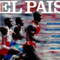 Coleccionismo de Periódico El País: EL PAIS SEMANAL NÚMERO 2 FECHADA EL 3 DE MARZO DE 1991 BEN HOHNSON. Lote 120549811