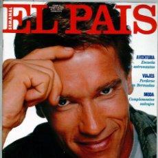 Coleccionismo de Periódico El País: EL PAIS SEMANAL NÚMERO 10 FECHADA EL 28 DE ABRIL DE 1991 ARNOLD SCHAWRZENEGGER. Lote 120550943