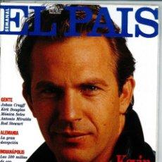 Coleccionismo de Periódico El País: EL PAIS SEMANAL NÚMERO 19 FECHADA EL 30 DE JUNIO DE 1991 KEVIN COSTNER JOAHN CRUYFF. Lote 120554771