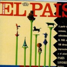 Coleccionismo de Periódico El País: EL PAIS SEMANAL NÚMERO 23 FECHADA EL 28 DE JULIO DE 1991 PARIS LONDRES. Lote 120555235