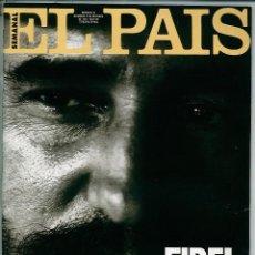 Coleccionismo de Periódico El País: EL PAIS SEMANAL NÚMERO 33 FECHADA EL 6 DE OCTUBRE DE 1991 FIDEL CASTRO CUBA. Lote 120557963