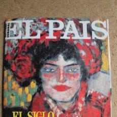 Coleccionismo de Periódico El País: REVISTA EL PAÍS SEMANAL. Nº 40. 24 NOVIEMBRE 1991. EL SIGLO DE PICASSO.. Lote 124066915