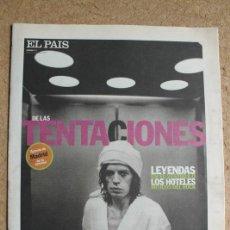 Coleccionismo de Periódico El País: EL PAÍS DE LAS TENTACIONES. Nº 171. 31 DE ENERO 1997. LEYENDAS EN EL VESTÍBULO. . Lote 124086659