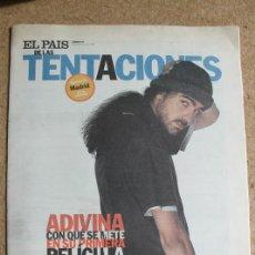 Coleccionismo de Periódico El País: EL PAÍS DE LAS TENTACIONES. Nº 170. 24 DE ENERO 1997. FERNANDO LEÓN. BARBARA STREISAND.. Lote 124088719