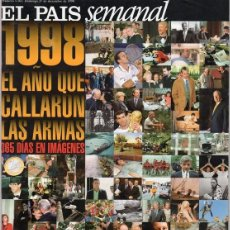 Coleccionismo de Periódico El País: EL PAÍS SEMANAL. RESUMEN AÑO 1998 NÚMERO 1161. Lote 124656215