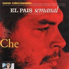 Coleccionismo de Periódico El País: EL PAIS SEMANAL. CHE GUEVARA. NUM 1095. Lote 124658035