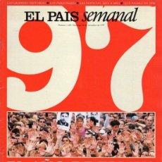 Coleccionismo de Periódico El País: EL PAÍS SEMANAL. RESUMEN AÑO 1997 NÚMERO 1109 EL AÑO DE ERMUA. Lote 124658439