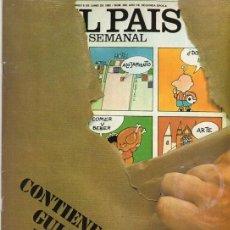 Coleccionismo de Periódico El País: EL PAÍS SEMANAL. MUNDIALES FÚTBOL 1982 NÚMERO 269. Lote 124658875