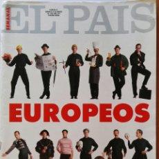 Coleccionismo de Periódico El País: SUPLEMENTO SEMANAL EL PAÍS MARZO 1992 REPORTAJE BRUCE SPRINGSTEEN. Lote 127214680