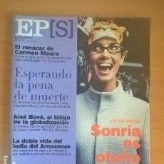 Coleccionismo de Periódico El País: EL PAÍS SEMANAL - 8 OCTUBRE 2000 - NÚMERO 1254. Lote 128960483