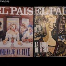 Coleccionismo de Periódico El País: EL PAÍS SEMANAL 212 Y 214, 1995.. Lote 130208440