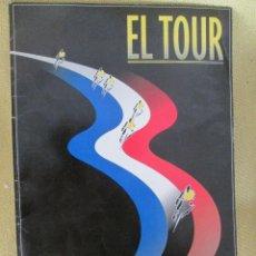 Coleccionismo de Periódico El País: CARPETA 17 LÁMINAS A TODO COLOR.-TOUR 1995. ED EL PAÍS. CARPETA. Lote 130263154