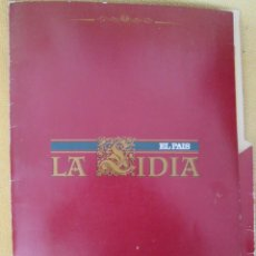 Coleccionismo de Periódico El País: LA LIDIA EL PAIS - 32 LAMINAS DE 39 X 27 CM - EDICION TAURINA COLECCIONABLE DE EL PAIS CARPETA. Lote 130263946