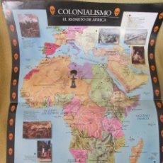 Coleccionismo de Periódico El País: COLONIALISMO - EL REPARTO DE AFRICA. Lote 130417314