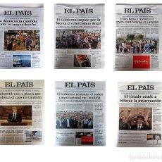 Coleccionismo de Periódico El País: EL PAÍS: HISTORIA DE ESPAÑA, DESAFÍO INDEPENDENTISTA. Lote 130465110