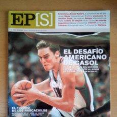Coleccionismo de Periódico El País: EL PAÍS SEMANAL - 1 DE OCTUBRE DE 2001 - NÚMERO 1309 - PAU GASOL - MEMPHIS GRIZZLIES. Lote 130741094