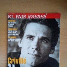 Coleccionismo de Periódico El País: EL PAÍS SEMANAL - 12 DE SEPTIEMBRE DE 1999 - NÚMERO 1198 - ÁLEX CRIVILLÉ. Lote 130768596