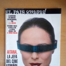 Coleccionismo de Periódico El País: EL PAÍS SEMANAL - 26 DE SEPTIEMBRE - NÚMERO 1200 - AITANA SÁNCHEZ GIJÓN. Lote 130768880