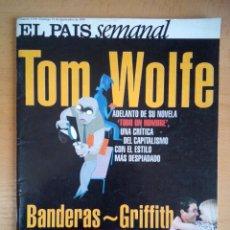 Coleccionismo de Periódico El País: EL PAIS SEMANAL - 19 DE SEPTIEMBRE DE 1999 - NÚMERO 1199 - ANTONIO BANDERAS. MELANIE GRIFFITH.. Lote 130770276