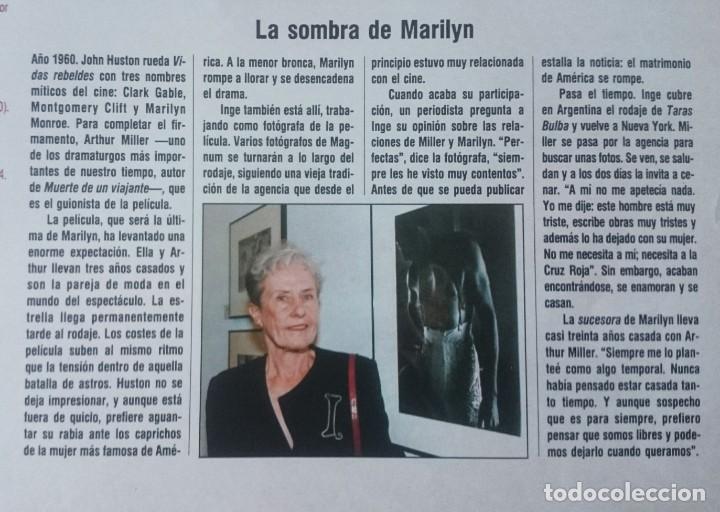 Coleccionismo de Periódico El País: Inge Morath en España. El largo viaje. (El Pais semanal circa 1995) - Foto 6 - 131666614