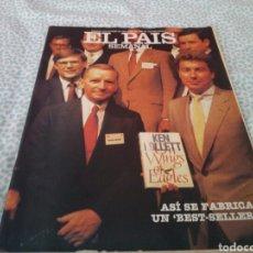 Coleccionismo de Periódico El País: EL PAIS SEMANAL, N° 338, ASI SE FABRICA UN BEST-SELLER, OCTUBRE 1983. Lote 131930167