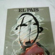 Coleccionismo de Periódico El País: EL PAIS . SUPLEMENTO ESPECIAL 1776.2001 DE NUESTRAS VIDAS. Lote 131942579