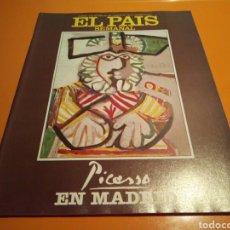 Coleccionismo de Periódico El País: REVISTA EL PAÍS SEMANAL, PICASSO EN MADRID, N° 497 , OCTUBRE 1986. Lote 133438163