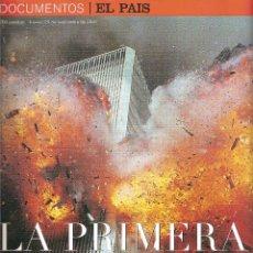 Coleccionismo de Periódico El País: REVISTA EL PAÍS. LA PRIMERA GUERRA DEL SIGLO XXI. Lote 135497282