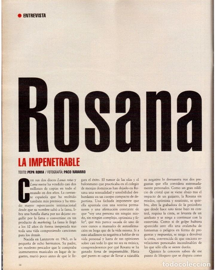 Coleccionismo de Periódico El País: 1999. ROSANA. WILLIAM FORD, PRESIDENTE. NUEVA YORK EN BARCELONA. RUTH GABRIEL. RAIMUNDO AMADOR. VER - Foto 3 - 138056826