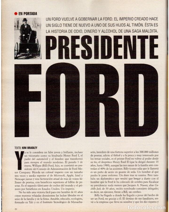 Coleccionismo de Periódico El País: 1999. ROSANA. WILLIAM FORD, PRESIDENTE. NUEVA YORK EN BARCELONA. RUTH GABRIEL. RAIMUNDO AMADOR. VER - Foto 6 - 138056826
