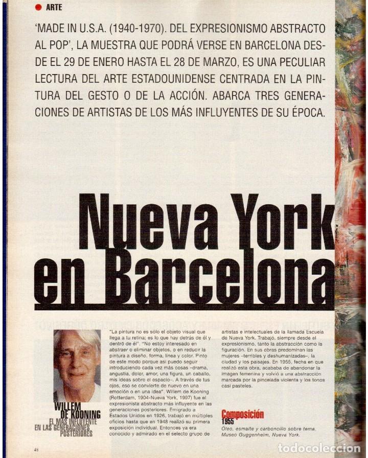 Coleccionismo de Periódico El País: 1999. ROSANA. WILLIAM FORD, PRESIDENTE. NUEVA YORK EN BARCELONA. RUTH GABRIEL. RAIMUNDO AMADOR. VER - Foto 8 - 138056826