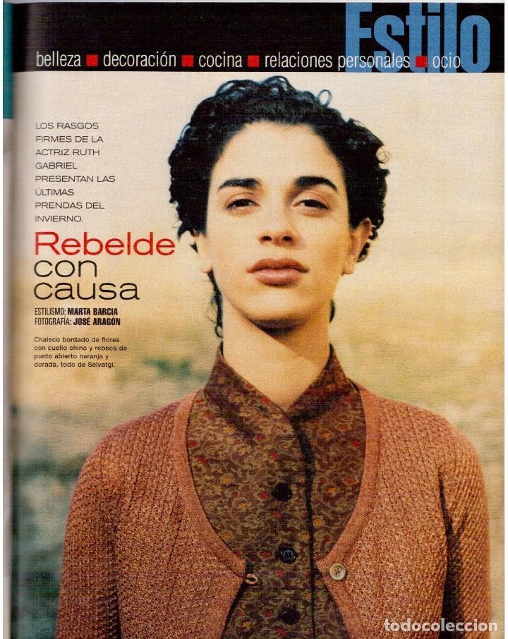 Coleccionismo de Periódico El País: 1999. ROSANA. WILLIAM FORD, PRESIDENTE. NUEVA YORK EN BARCELONA. RUTH GABRIEL. RAIMUNDO AMADOR. VER - Foto 9 - 138056826