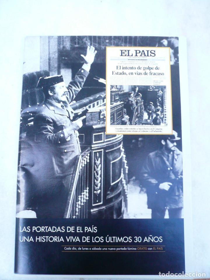 LAS PORTADAS EL PAIS. UNA HISTORIA DE LOS ÚLTIMOS 30 AÑOS. 30 PORTADAS. DE 1976 A 2006 (Coleccionismo - Revistas y Periódicos Modernos (a partir de 1.940) - Periódico El Páis)