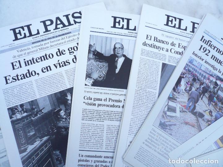 Coleccionismo de Periódico El País: LAS PORTADAS EL PAIS. UNA HISTORIA DE LOS ÚLTIMOS 30 AÑOS. 30 PORTADAS. DE 1976 A 2006 - Foto 3 - 138057910